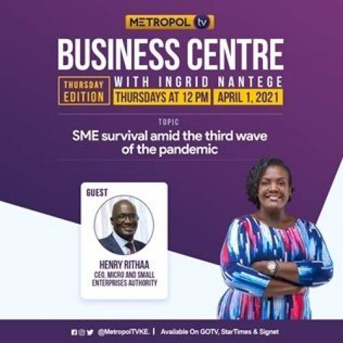 SME survival and recovery amid the third wave of the pandemic. – CEO's interview on Metropol Tv