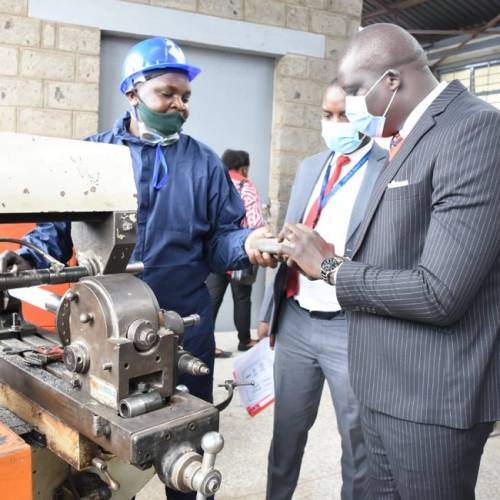 Positioning Kariobangi Centre of Excellence for MSE's Growth