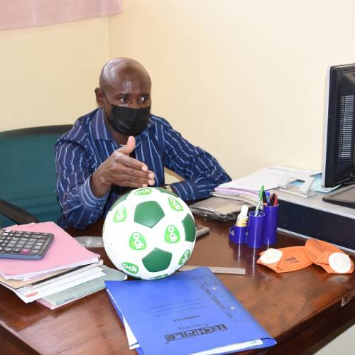 Entrepreneur creates Quality Made in Kenya Soccer Balls