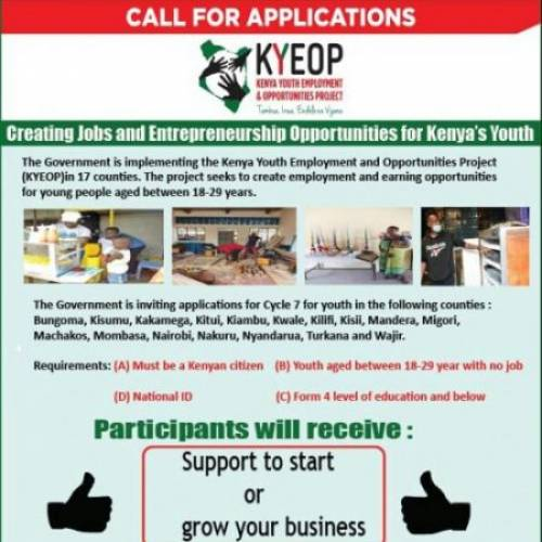CALL FOR APPLICATIONS: KYEOP BUSINESS SUPPORT